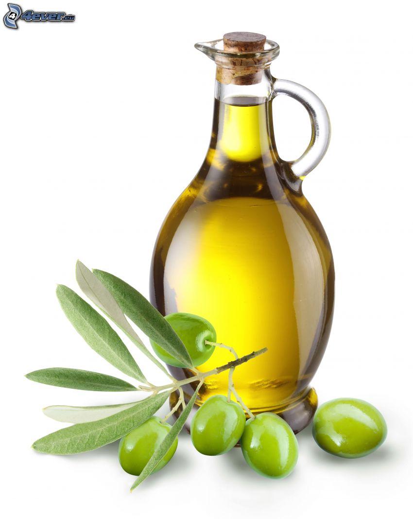 olio d'oliva, olive