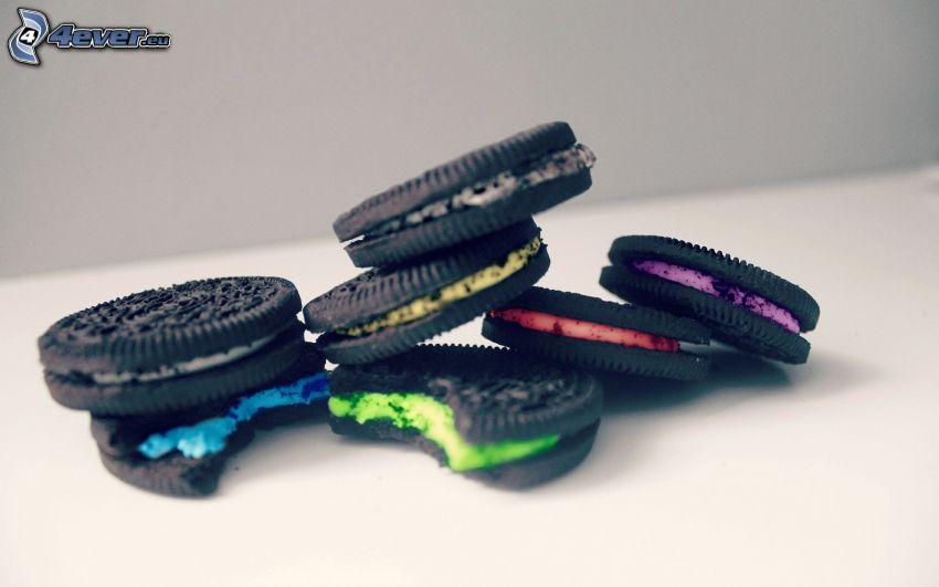 Oreo, biscotti, colori