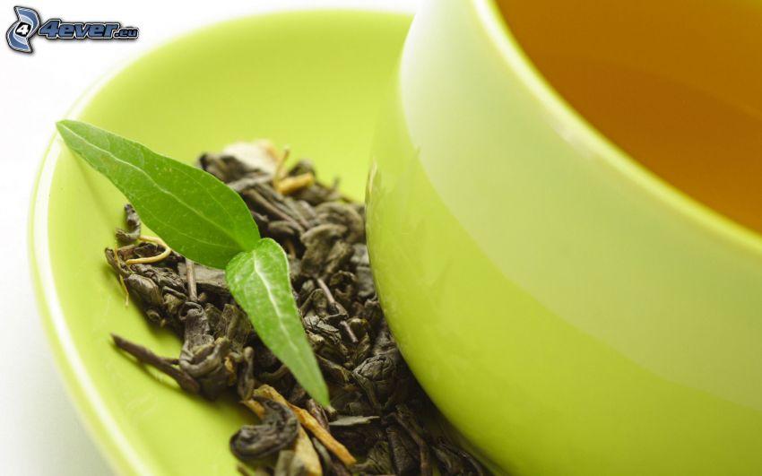tè, fiori secchi