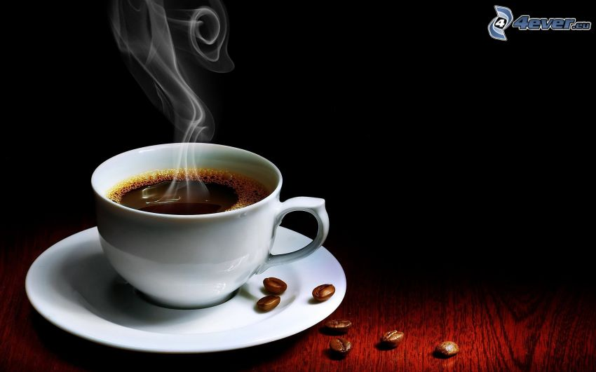 una tazza di caffè
