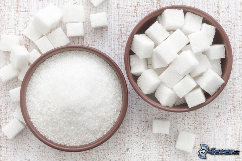 zucchero, zucchero in quadretti