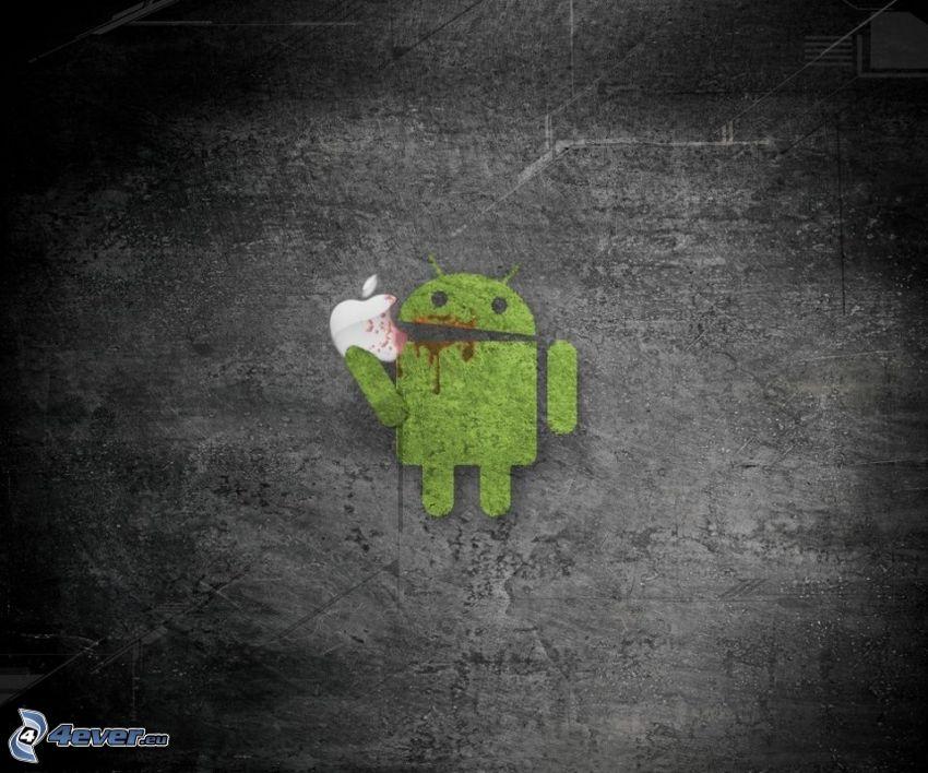 Android, Apple, battaglia
