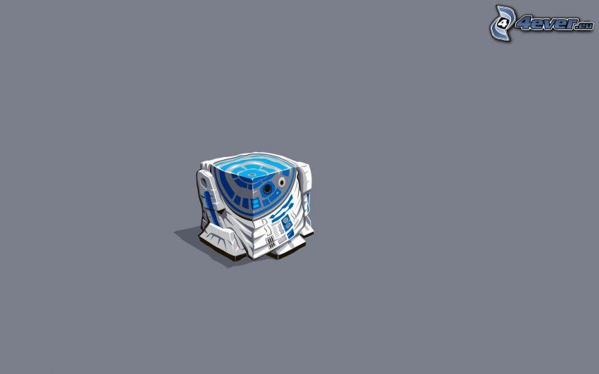 R2 D2, cubo, Star Wars