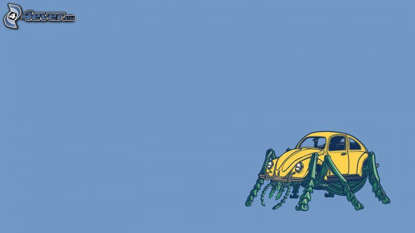 Volkswagen Beetle, carrozzeria, scarafaggio