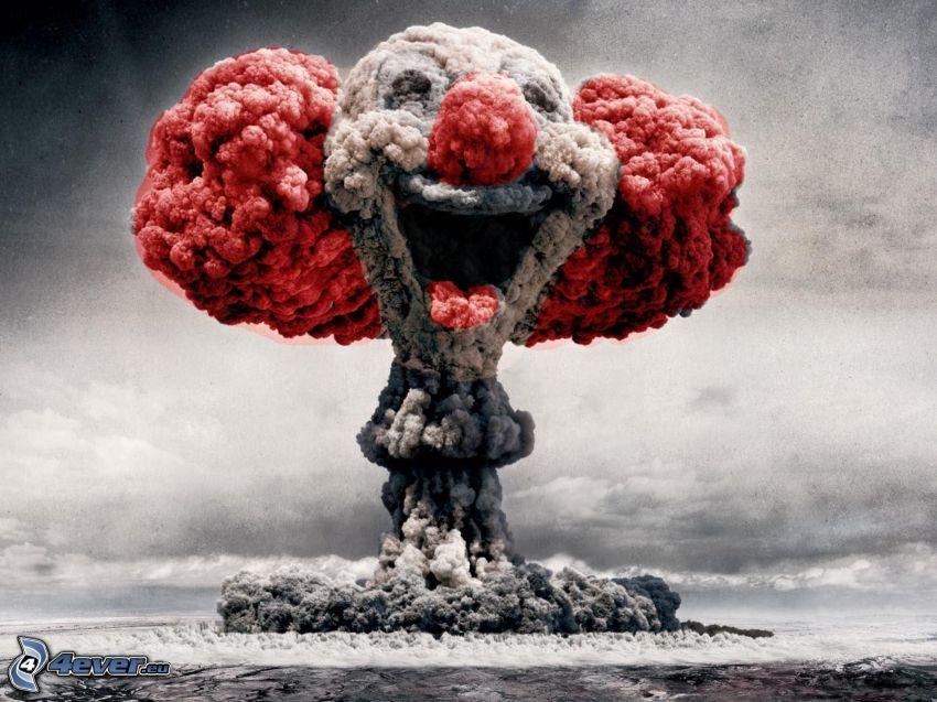 pagliaccio, esplosione