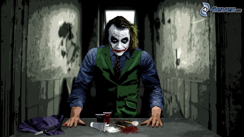Joker, cosmetica
