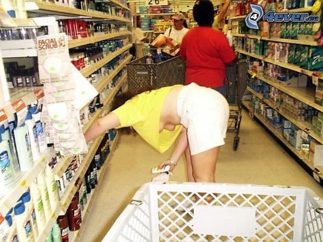 shopping, seno