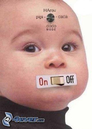 bambino, controllo