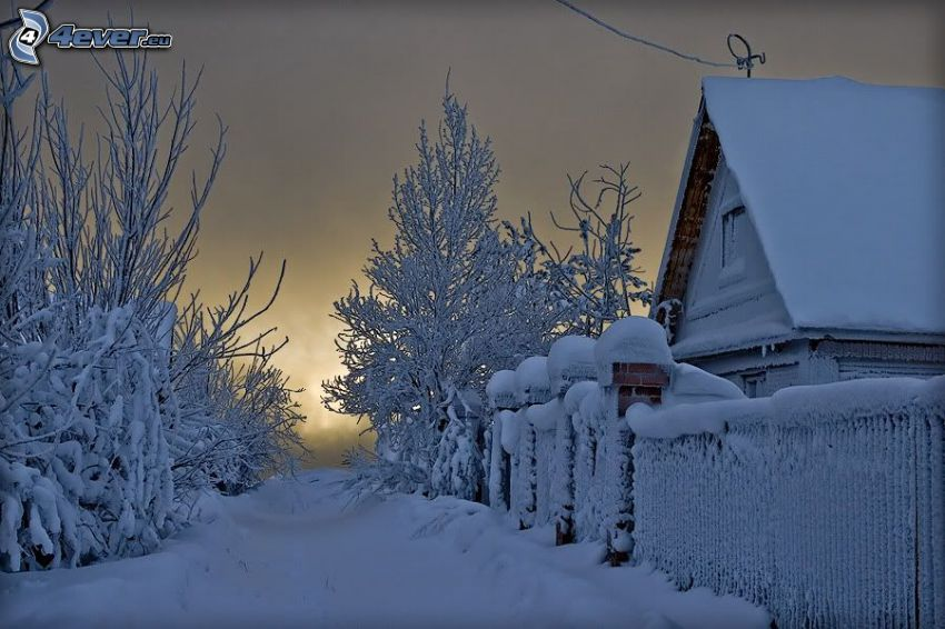 casa nevosa