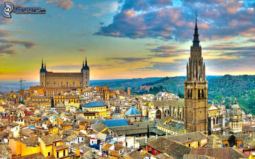 Alcázar de Toledo, Toledo, HDR
