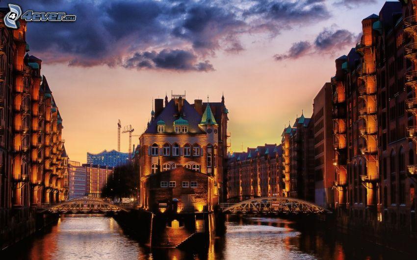 Amburgo, il fiume
