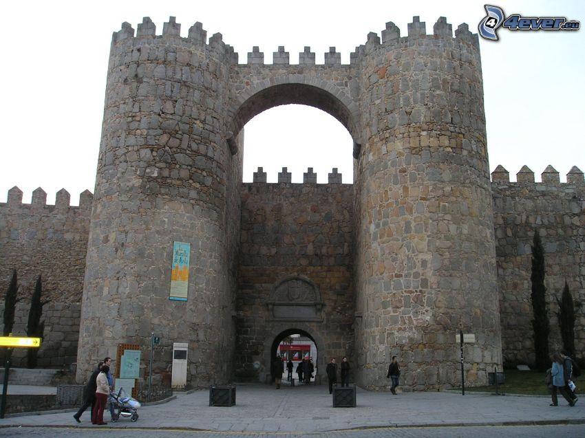 Ávila, Spagna, mura