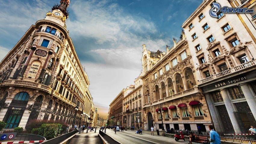 Barcellona, strada