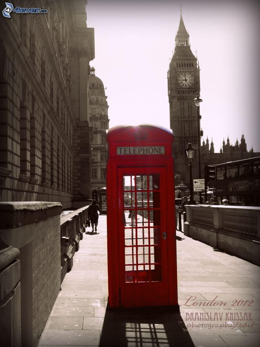 Cabina de telefono - 2 6