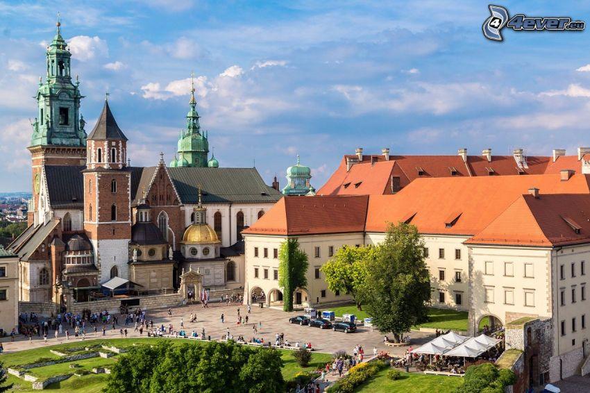 Castello di Wawel, Cracovia, piazza