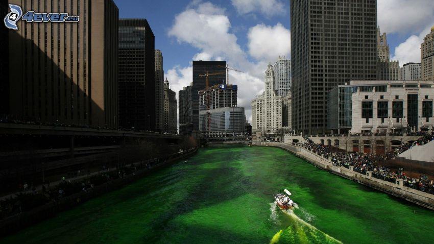 Chicago, il fiume