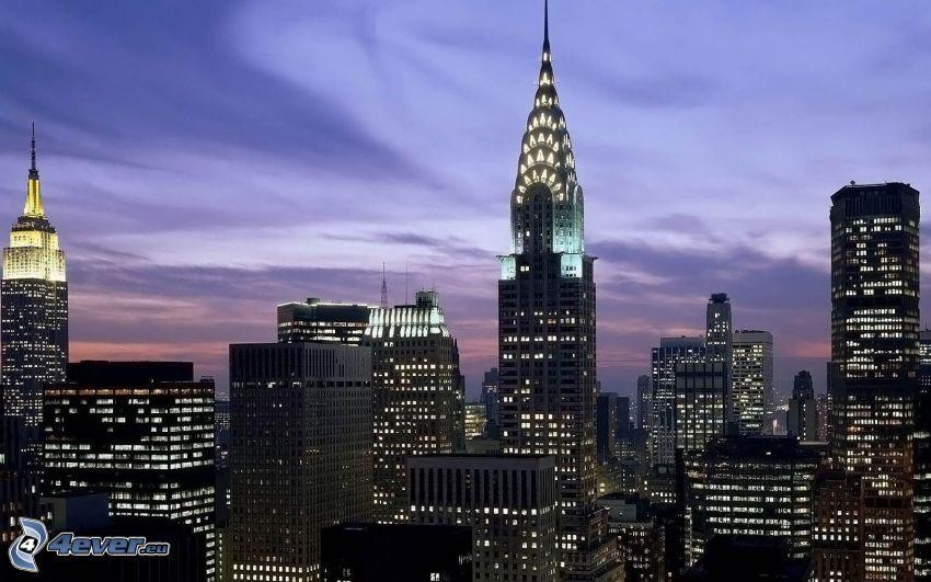 Chrysler Building, Empire State Building, New York, grattacieli