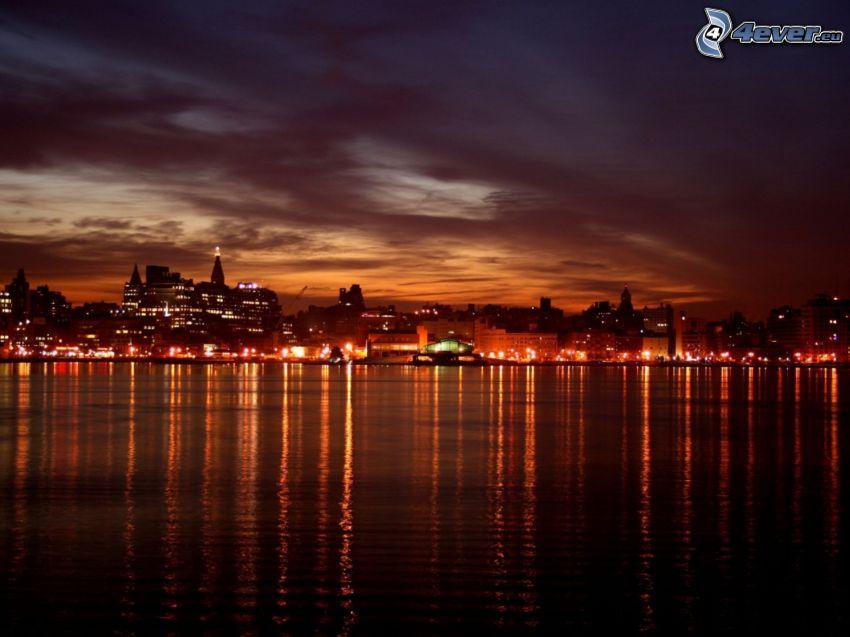 città notturno