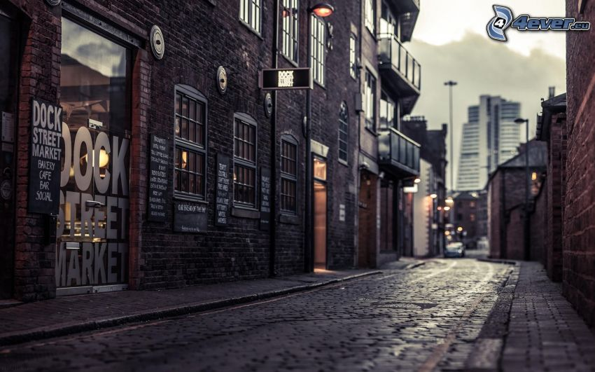 Dock Street, strada
