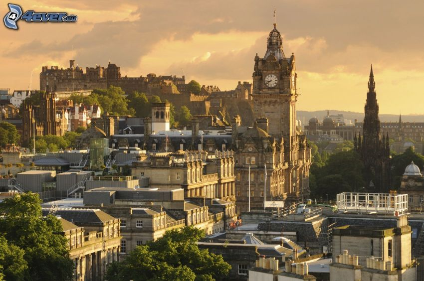 Edimburgo, Castello di Edimburgo, campanile