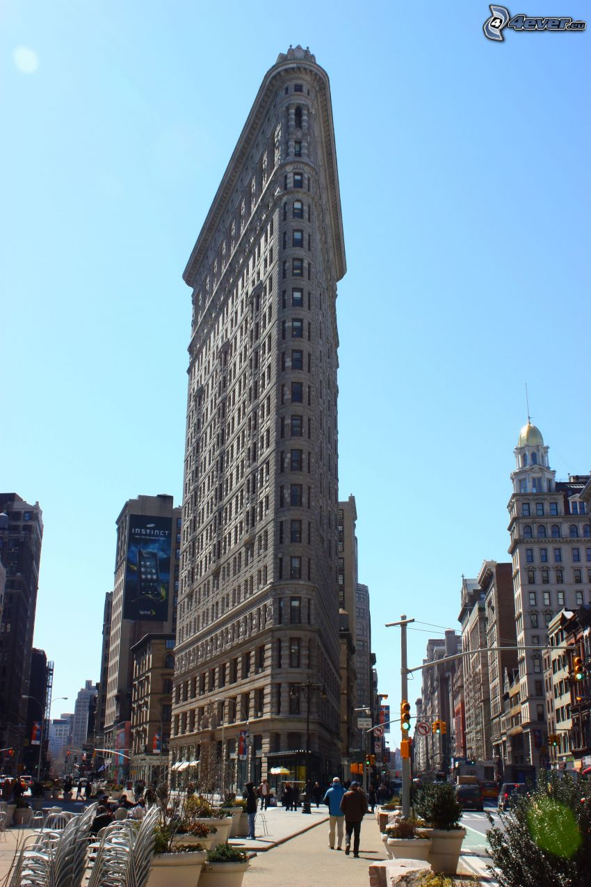 Flatiron, Manhattan, strade