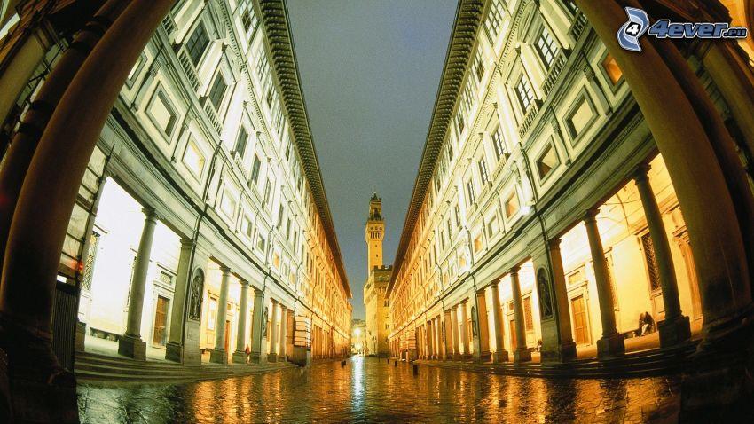Galleria degli Uffizi, Firenze, strada