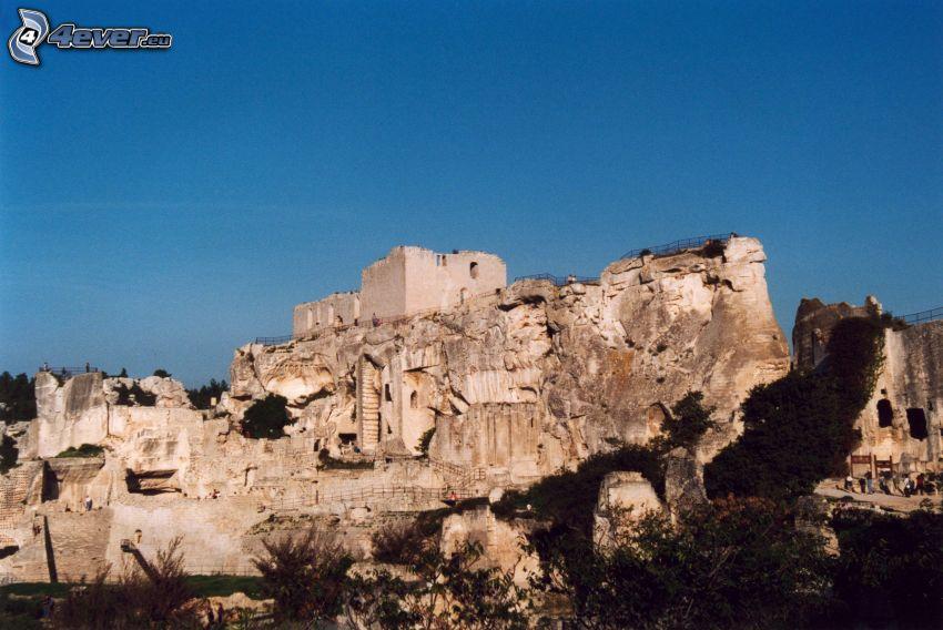 Les Baux de Provence, mura