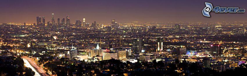 Los Angeles, città notturno