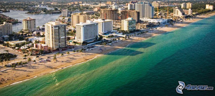 Miami, Florida, città costiera