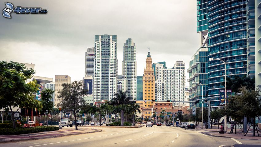 Miami, Florida, USA, strada