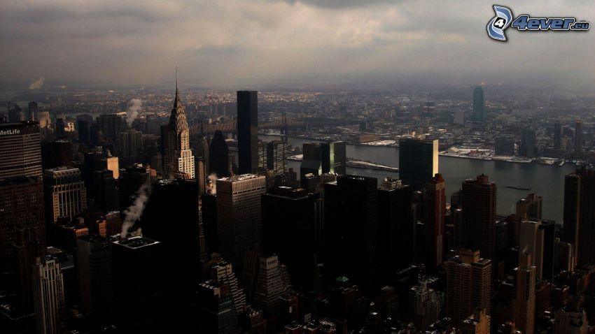 New York, grattacieli, Chrysler Building