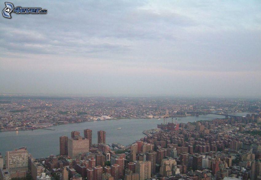 New York, vista della città