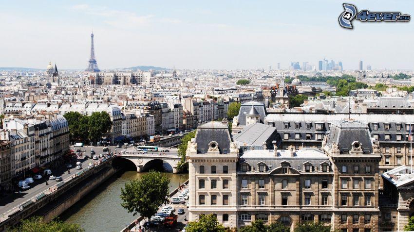 Parigi, Torre Eiffel, Senna