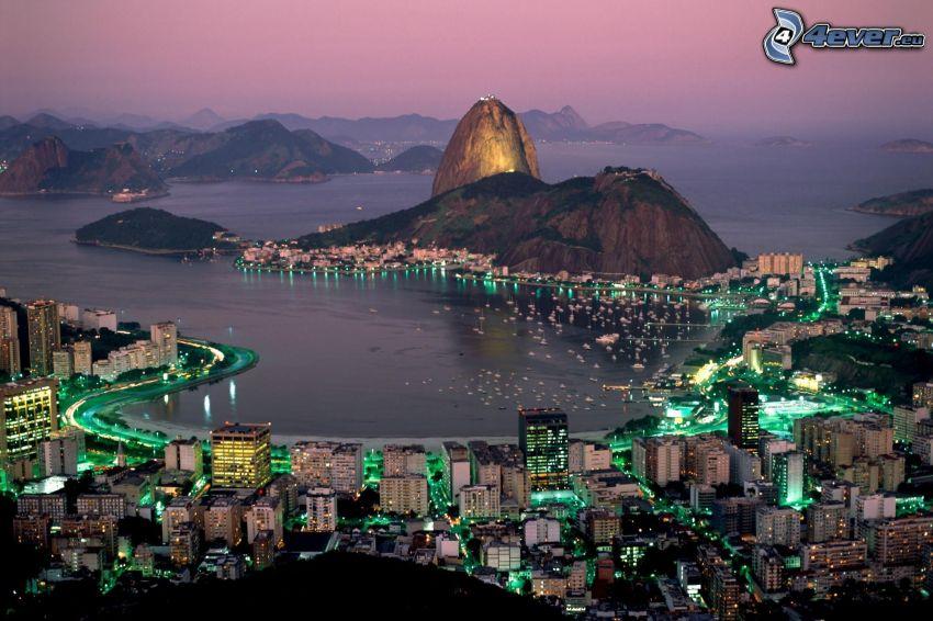 Rio De Janeiro, porto, mare, oceano