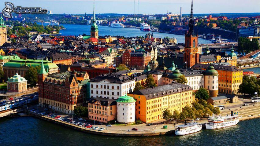 Stoccolma, il fiume