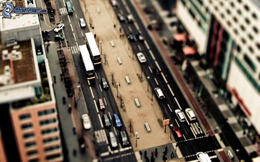 strada, diorama