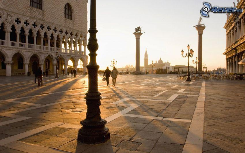 strada, Venezia, Italia