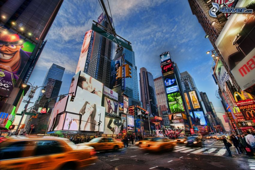 Times Square, New York, strada