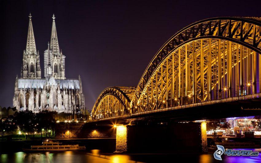 Colonia, Hohenzollern Bridge, Duomo di Colonia, cattedrale