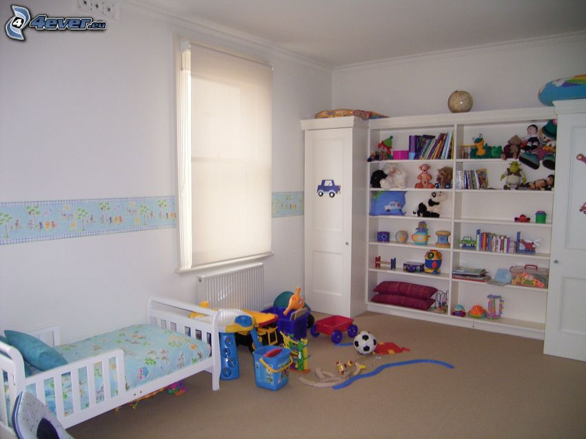 camera di bambini