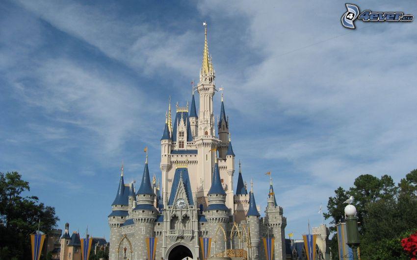 castello, Disneyland, Florida, USA