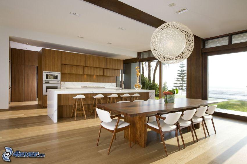 cucina, tavolo