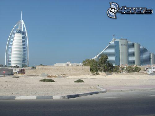 Dubai, Burj Al Arab, Jumeirah Beach