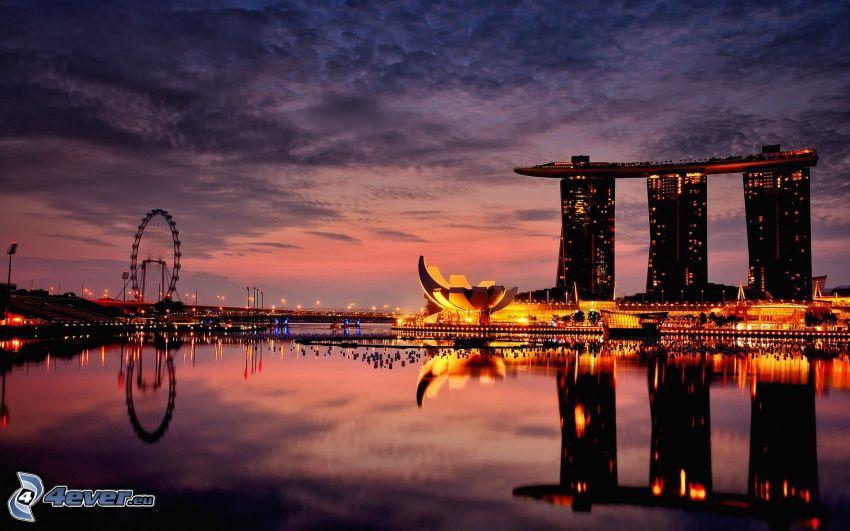 Marina Bay Sands, Ruota gigante, Singapore