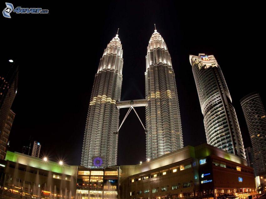 Petronas Towers, Kuala Lumpur, Malesia
