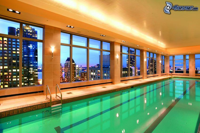 piscina, hotel