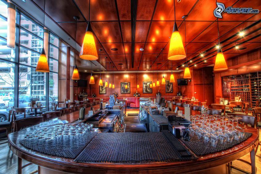 ristorante, HDR