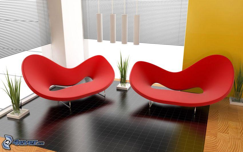 sedie, soggiorno