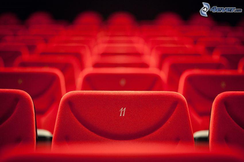 sedili, cinema