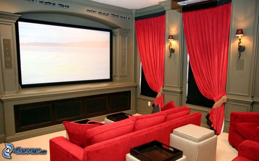 soggiorno, cinema